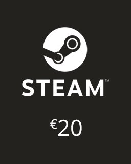 Steam Kredit 20 Euro krabice