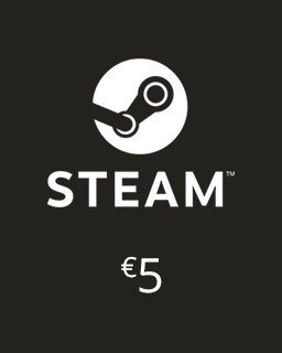 Steam Kredit 5 Euro krabice