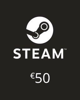 Steam Kredit 50 Euro krabice