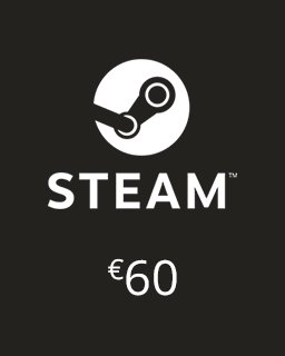 Steam Kredit 60 Euro krabice