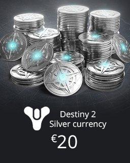Silver Currency Destiny krabice