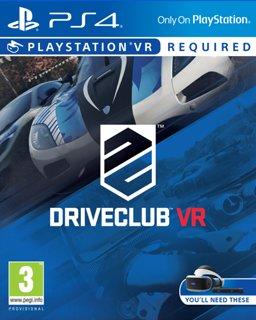 DriveClub VR krabice