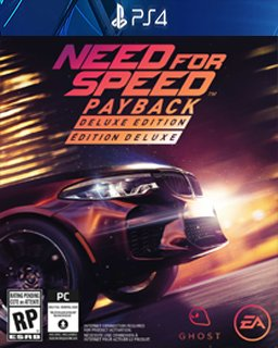 Need for Speed Payback Deluxe Edition krabice