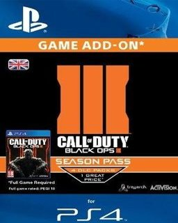 Call of Duty Black Ops 3 Season Pass krabice