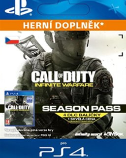 Call of Duty Infinite Warfare Season Pass krabice