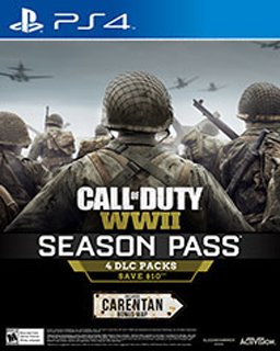 Call of Duty WWII Season Pass krabice