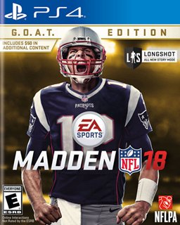 Madden NFL 18 G.O.A.T. Edition krabice