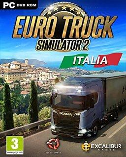 Euro Truck Simulátor 2 Italia krabice