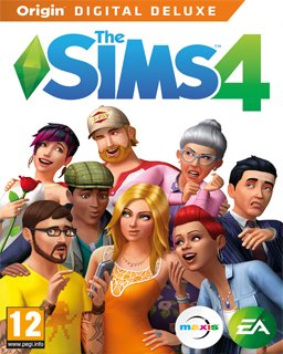 The Sims 4 Digital Deluxe Edition krabice