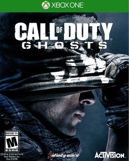 Call of Duty Ghosts Xbox 360 krabice