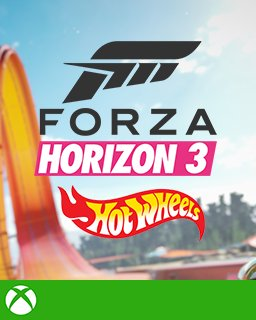 Forza Horizon 3 + Hot Wheels Xbox One krabice