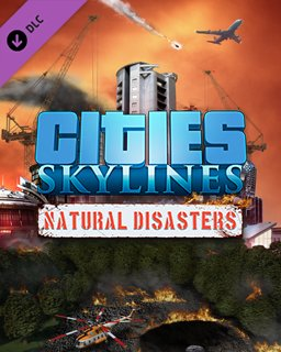 Cities Skylines Natural Disasters krabice