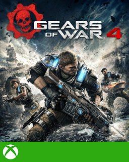 Gears of War 4 Xbox One krabice