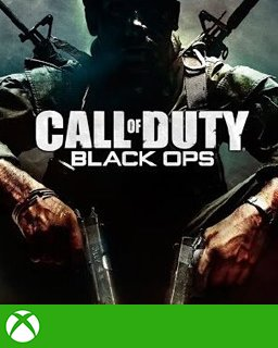Call of Duty Black Ops Xbox 360 krabice