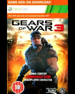 Gears of War 3 Commando Dom Xbox 360