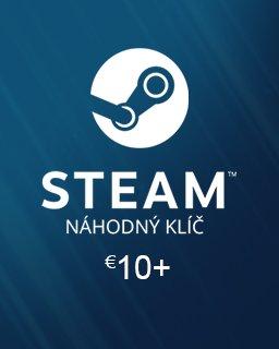 Náhodný Steam klíč 10€ krabice
