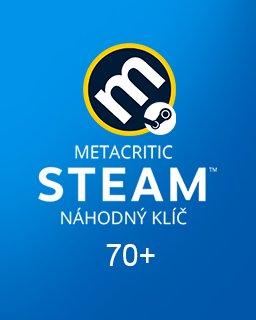 Náhodný Steam klíč Metacritic 70+