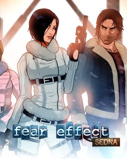 Fear Effect Sedna krabice