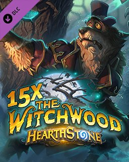 15x Hearthstone The Witchwood krabice