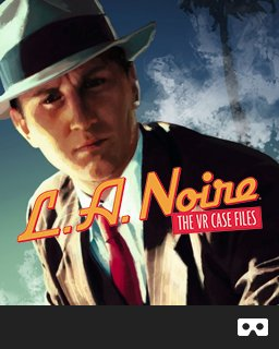 L.A. Noire The VR Case Files krabice