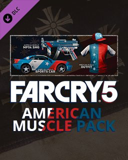 Far Cry 5 American Muscle Pack krabice