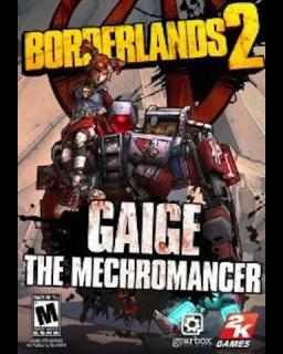 Borderlands 2 Mechromancer Pack krabice