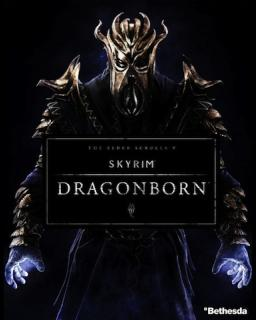 The Elder Scrolls V Skyrim Dragonborn krabice