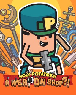 Holy Potatoes! A Weapon Shop?! krabice