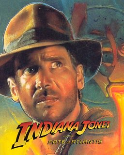 Indiana Jones and the Fate of Atlantis krabice