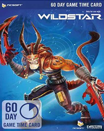 Wildstar 60 Dní předplacená karta