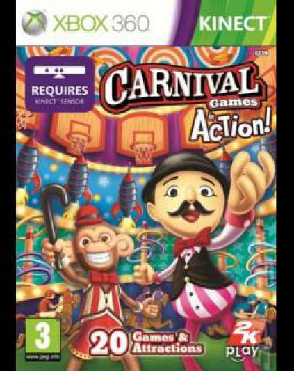 Carnival Games In Action Xbox 360