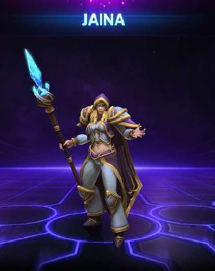 Jaina Heroes of the Storm