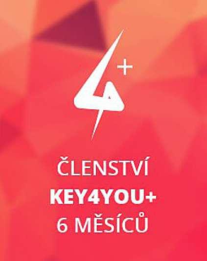 Key4You+ Členství (6 měsíců)