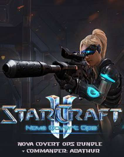 StarCraft 2 Nova Covert Ops bundle + Commander Abathur