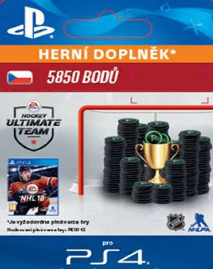 NHL 18 5850 Ultimate Points