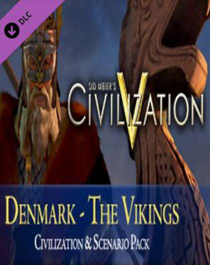 Sid Meiers Civilization V Civilization and Scenario Pack Denmark The Vikings