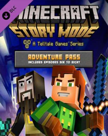 Minecraft Story Mode Adventure Pass