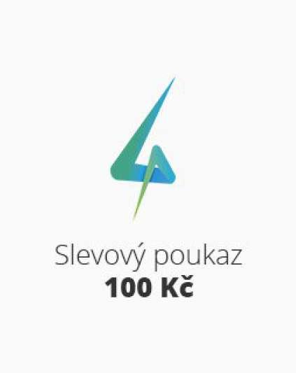 Slevový poukaz 100 Kč