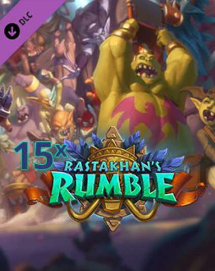 15x Hearthstone Rastakhans Rumble