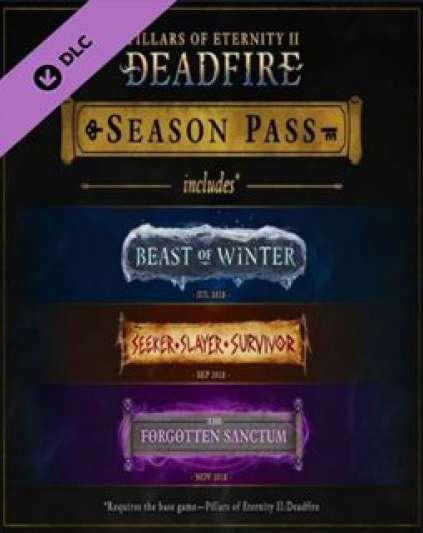 Pillars of Eternity 2 Deadfire Season Pass