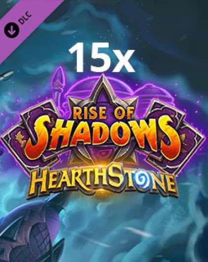 15x Hearthstone Rise of Shadows