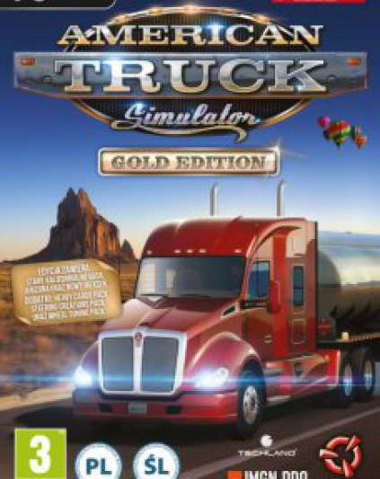American Truck Simulátor Gold