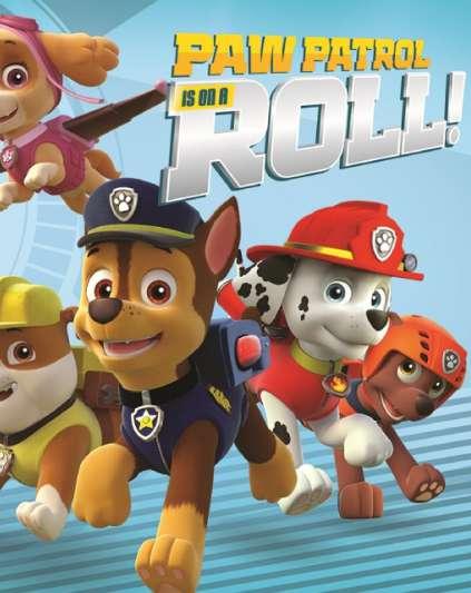 Paw Patrol On A Roll!