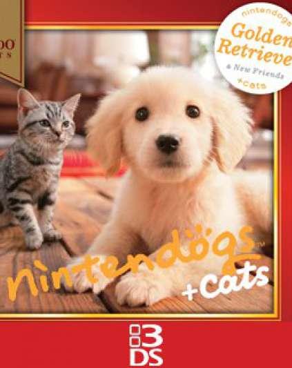 Nintendogs + Cats Golden Retriever + Friends