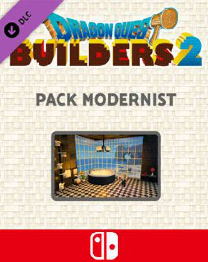 Dragon Quest Builders 2 Modernist Pack