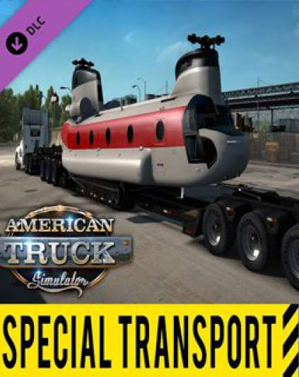 American Truck Simulátor Special Transport