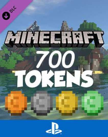 Minecraft 700 Tokens | Minecoins
