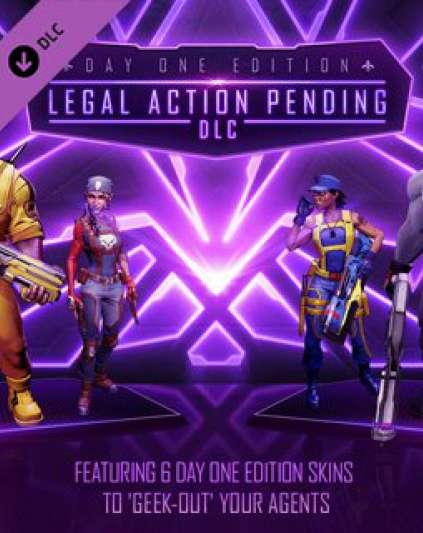 Agents of Mayhem Legal Action Pending