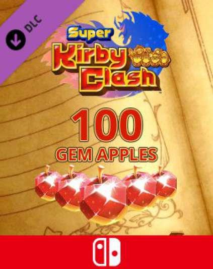100 Gem Apples dla Super Kirby Clash