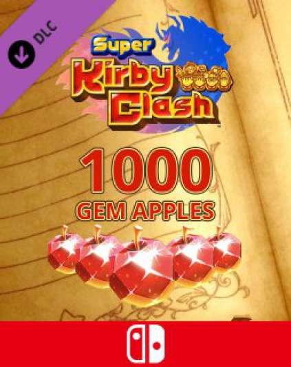 1000 Gem Apples dla Super Kirby Clash
